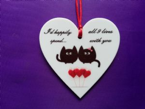 Valentine/Love Hanging Ornament Design 2